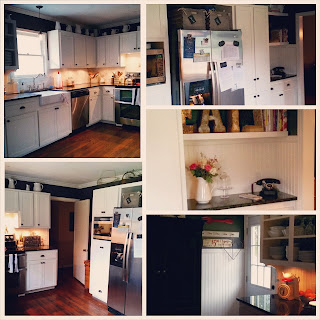 www.TheOtherEndOfTheCandle.com DIY Kitchen Makeover on tiny budget
