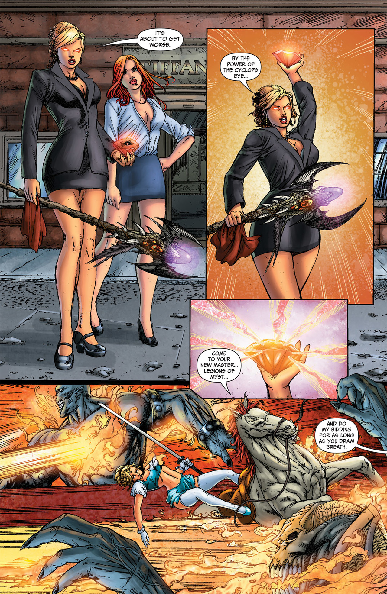 Grimm Fairy Tales (2005) Issue #50 #53 - English 46