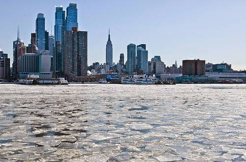 New York, New York - For Those Who Don't Travel: This Is What America Looks Like...Frozen