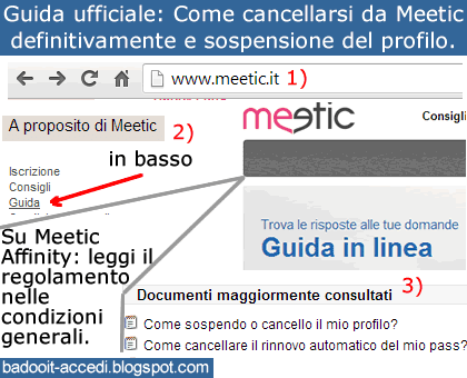 come fare bene l amore meetic chat