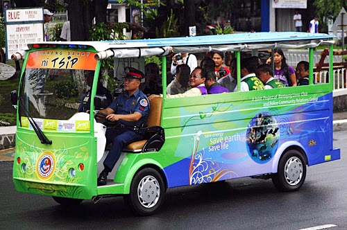 Electric Jeepney in Philippines