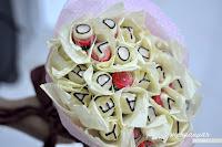 Cantiknya Untuk Si Dia. ( Chocolate Bouquet)