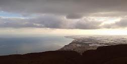 Arriba, en un día muy lluvioso. (Montaña de -Aguadulce-) 30.09.12.Foto Daniel Espadafor