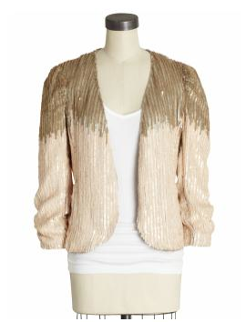 Two Tone Sequin Jacket
