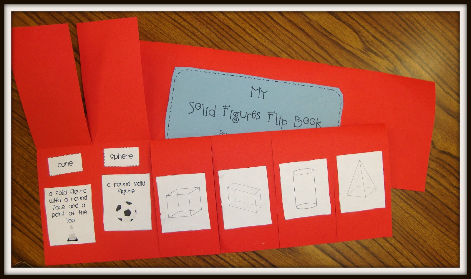 Workbooks solid shapes worksheets : Today In First Grade: Solid Figures and a winner!