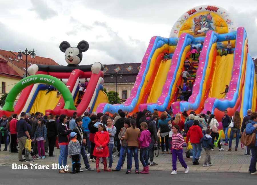 distractie de ziua copiilor in Baia Mare