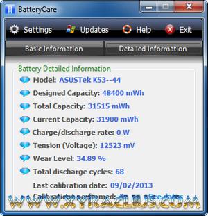 BatteryCare 0.9.13.0 Full