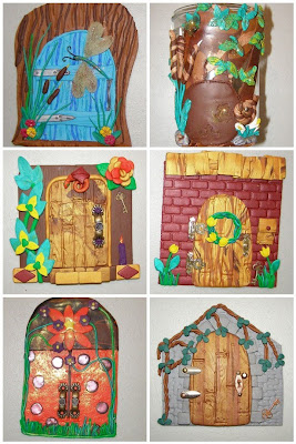 Into the dawn fairy door class for Idea behind fairy doors