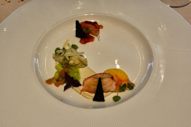 Restaurant St. Nicolas Lobster carpaccio