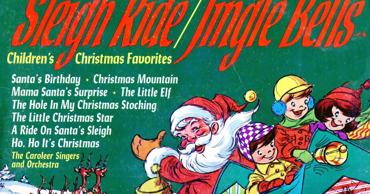Caroleer Singers And Orchestra, The - Children's Christmas Favorites