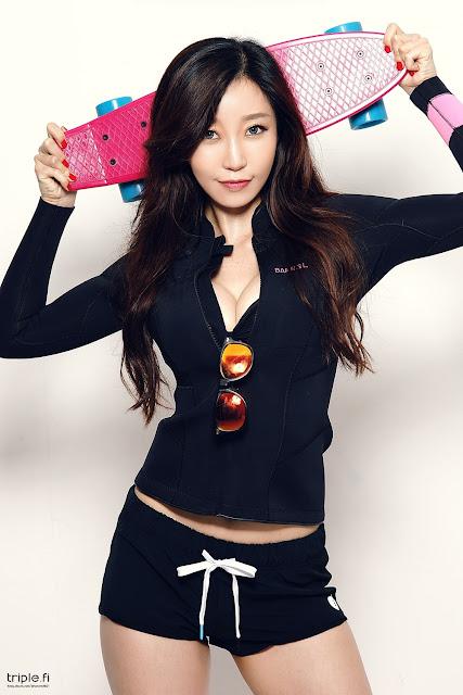 4 Oh Ha Ru - Studio Photo Shoot - very cute asian girl-girlcute4u.blogspot.com