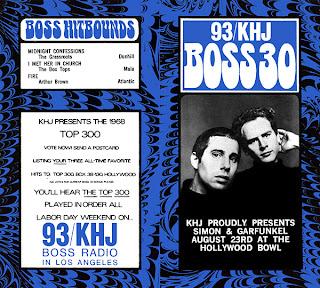 KHJ Boss 30 No. 164 - Simon & Garfunkel