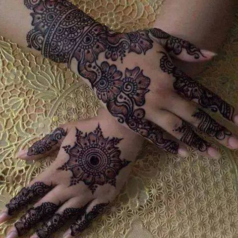 Eid Mehndi Designs  Latest Pakistani Mehndi Designs For