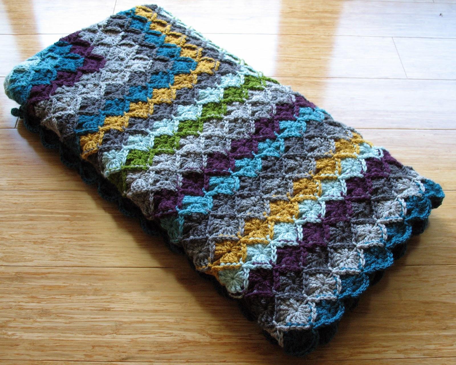 eclectic me: wool eater blanket CAL week 7ish...