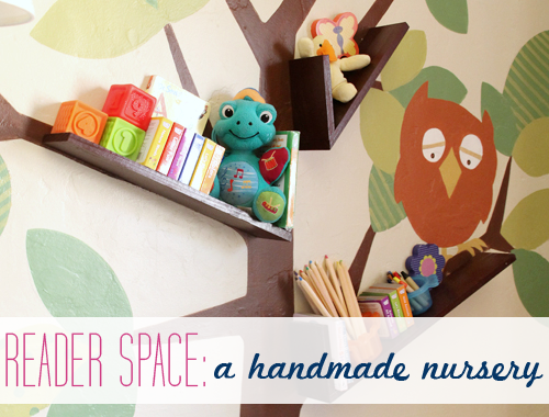 Iheart organizing reader space a handmade nursery for Handmade things for room