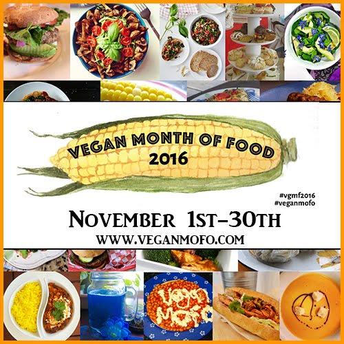 Vegan MoFo 2016!