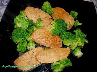 tempeh con broccoletti