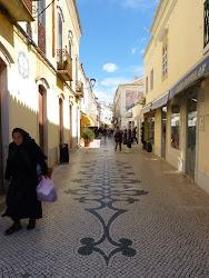 Leuk straatje in het oude centrum van Loulé