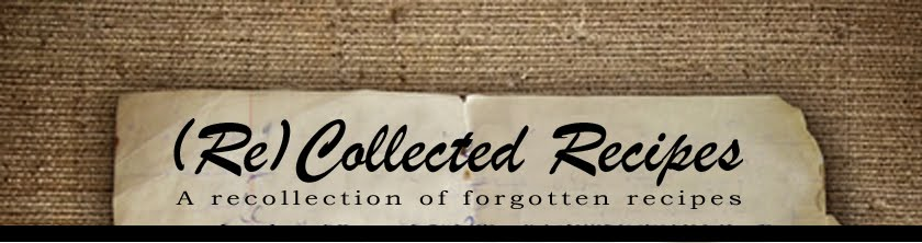 Recollected Recipes