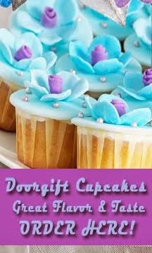 Cupcakes Doorgift