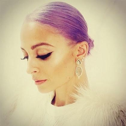 Kolorowe włosy 2014 - Nicole Richie