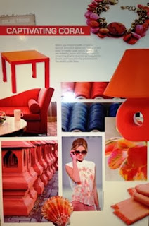 coral, stripes, texture, print, color trends