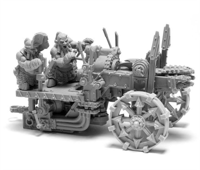 Chaos Dwarf Death Shrieker Rocket - Warhammer Forge photo
