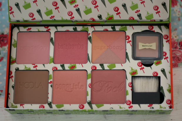Debenhams, beauty, haul, benefit, cheeky sweet spot, blush, bronzer, highlight, hoola, coralista, rockateur, dandelion, sugarbomb, balabamba, watts up,