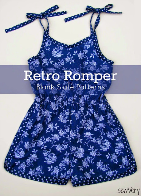 Retro Romper sewn by sewVery