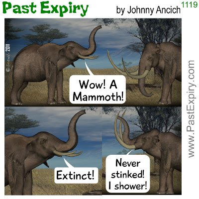 [CARTOON] Stinky Mammoth . 3D, animals, cartoon, prehistoric