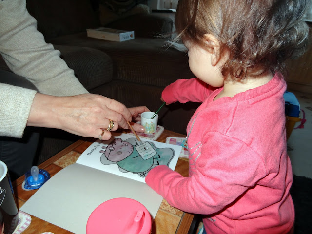 Painting with Peppa