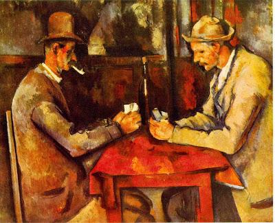 Jogadores de cartas, Paul Cézanne
