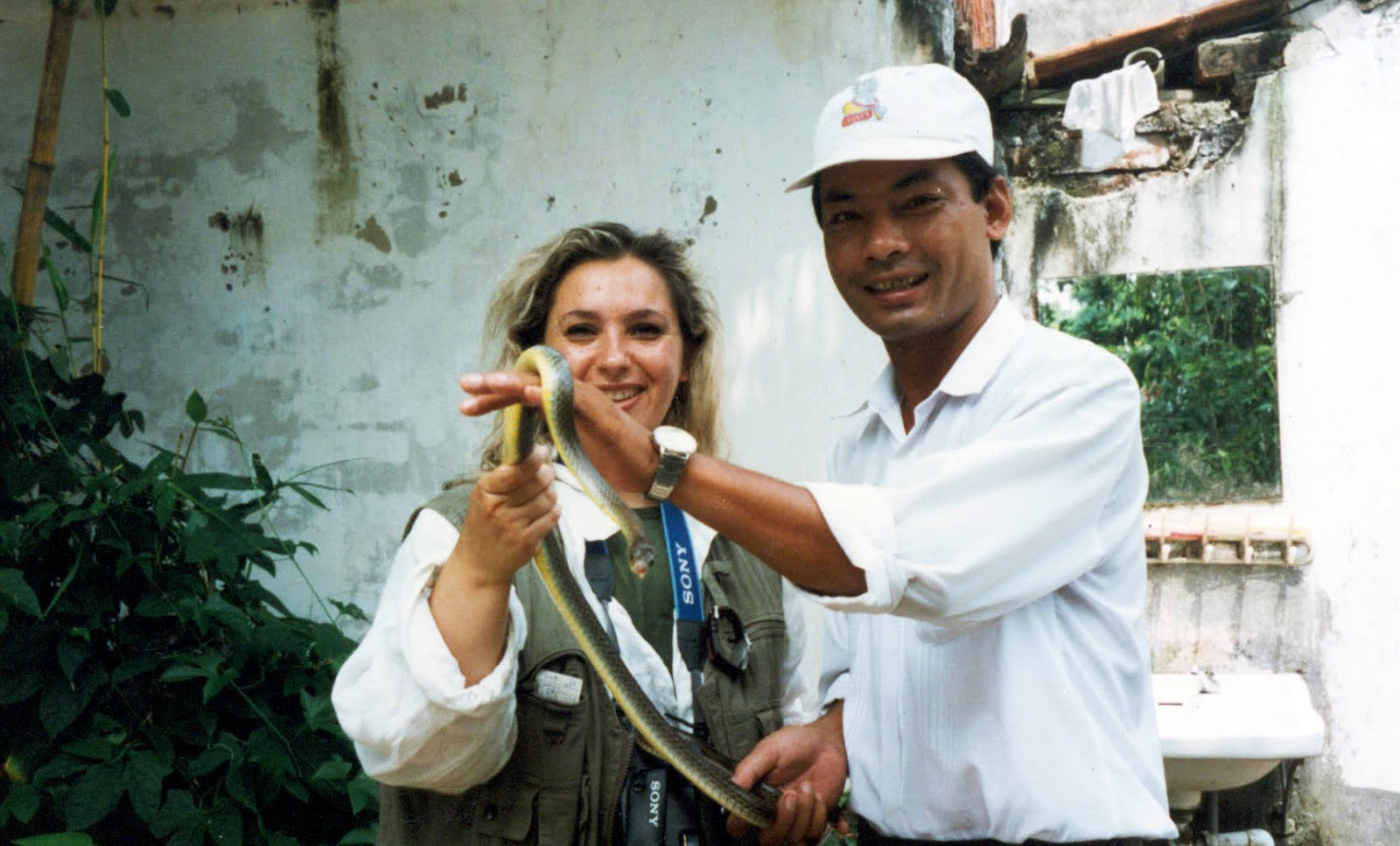 Villaggi Thai - Snake passion