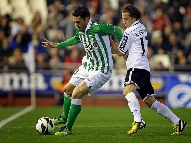 Betis Valencia descenso Guardado fútbol liga BBVA quiniela apuestas