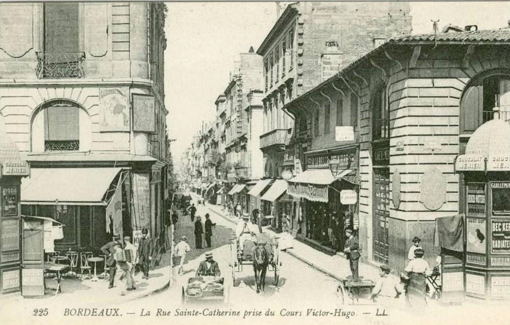 Commerces immarcescibles de la belle jardini re au pont neuf bordeaux - Magasins rue sainte catherine ...