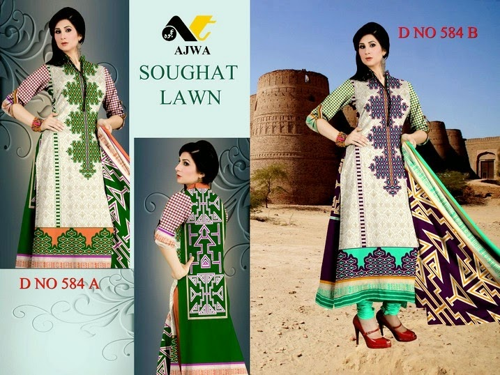 Soughat Summer Dress Designs
