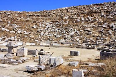 Theatre in Delos Island