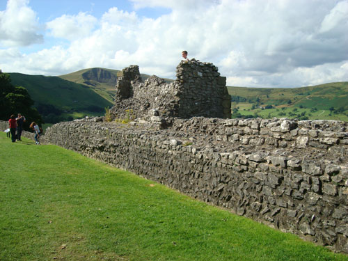 Peveril Castle, Castelton