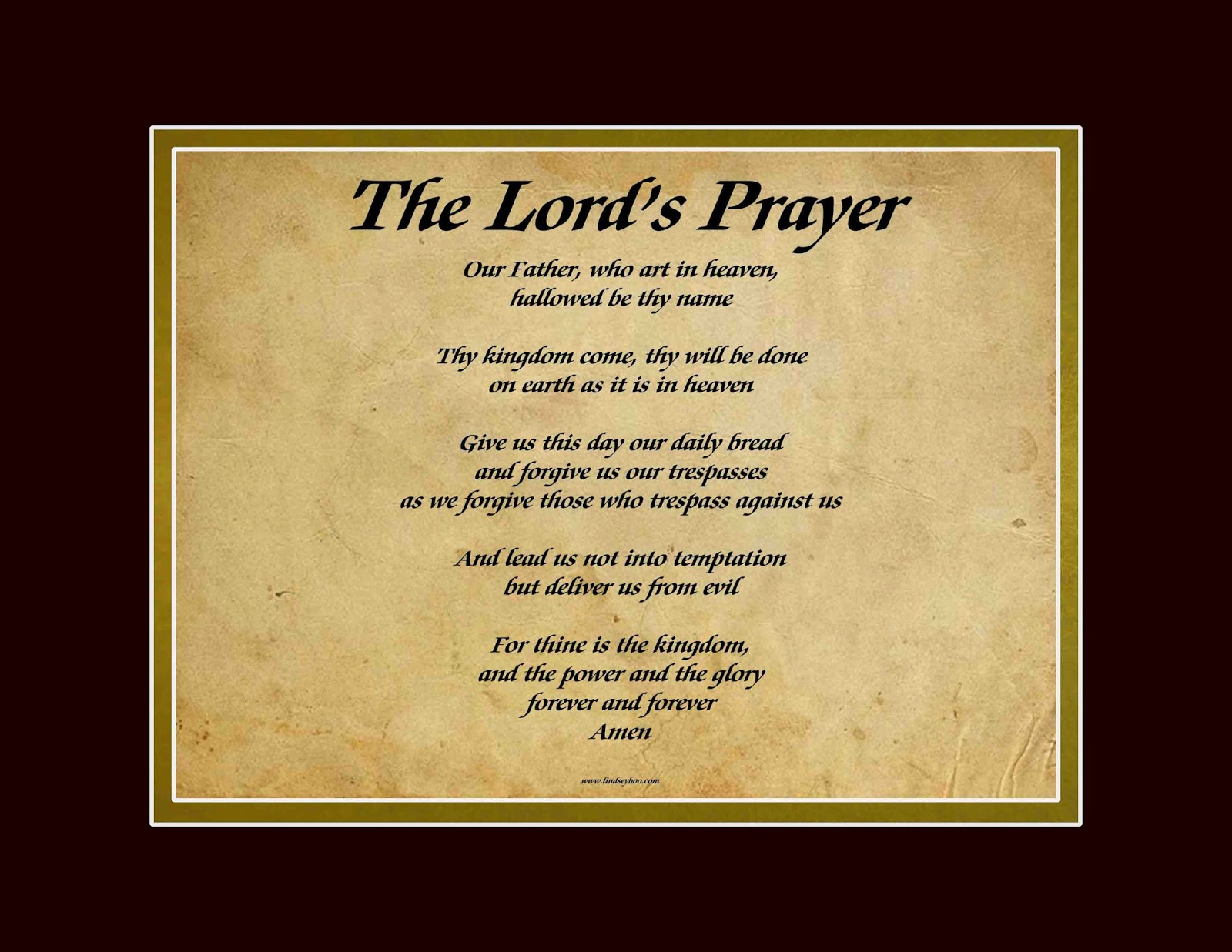 Lord's Prayer Art