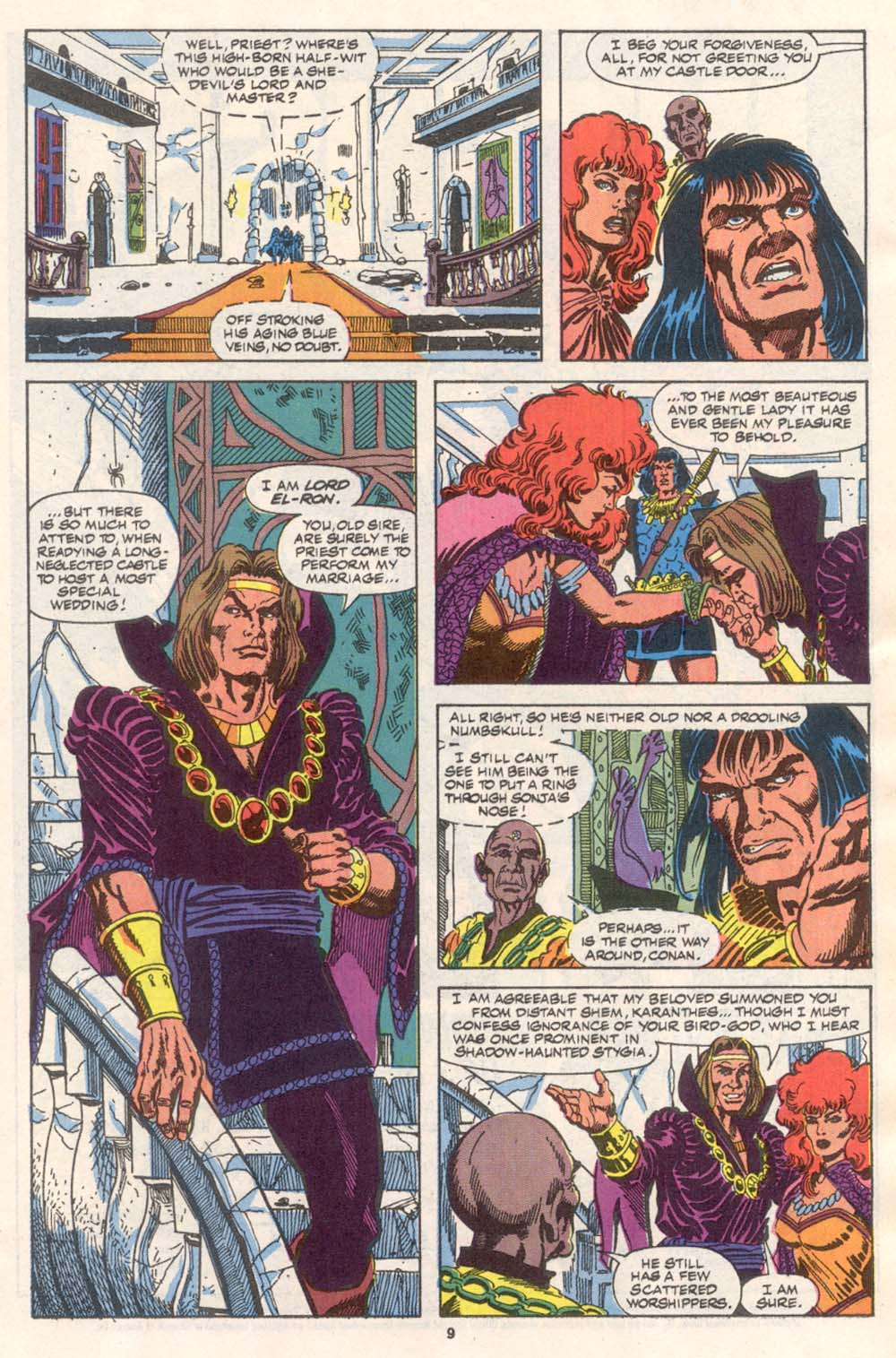 Conan the Barbarian (1970) Issue #242 #254 - English 8