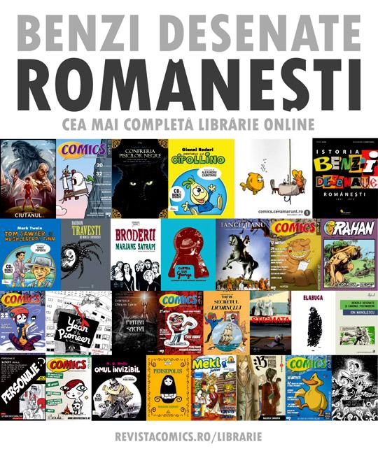 Benzi desenate ROMANESTI