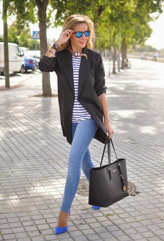 Blauer Jeans-Hosen mit 10 besonderen Stilen