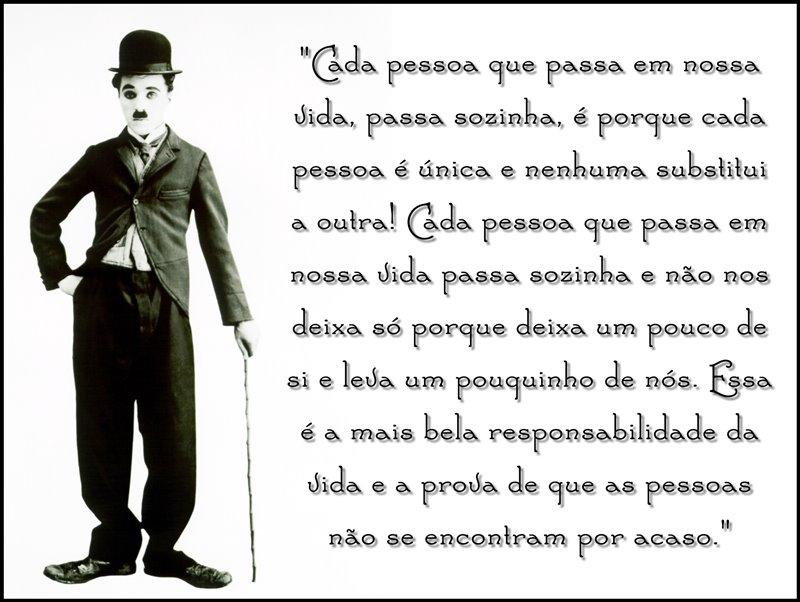 Frases de Charles Chaplin: 20 frases do Charles Chaplin