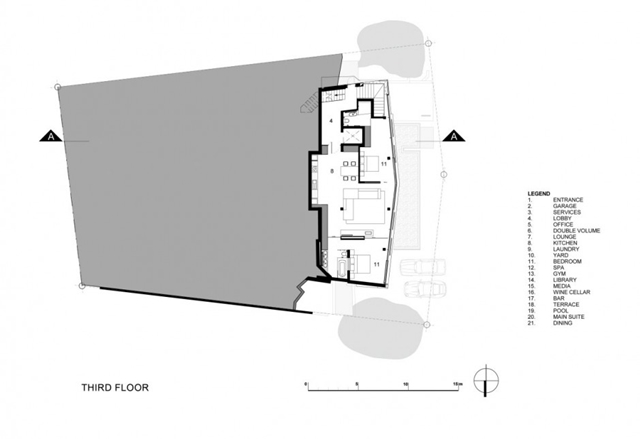 Illustration of the third floor