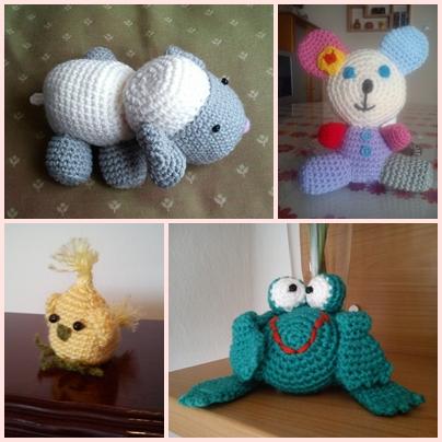 kekukilinares: animales tejidos a crochet