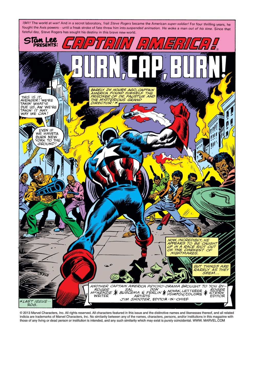 Captain America (1968) Issue #234 #149 - English 2