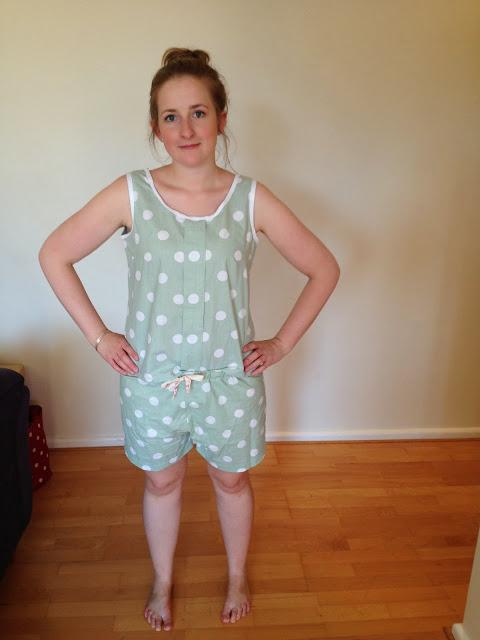 Colette Sorbetto and shorts