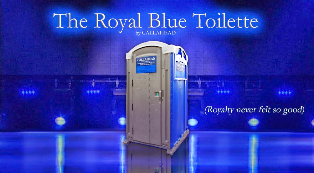 The Royal Blue Portable Toilet New York