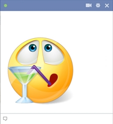Cocktail Smiley