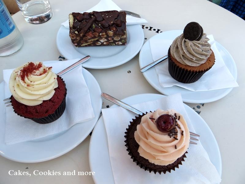 Cookies & Cream, Black Forest und Red Velvet Cupcakes aus dem Parlour von Peggy Porschen
